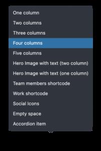 four-columns